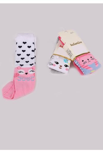 Katamino Bebe Külotlu Çorap