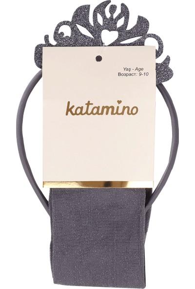 Katamino Taclı Külotlu Çorap