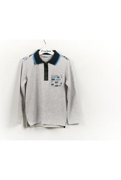 Mackays Erkek Çocuk Polo Yaka Sweat Shirt