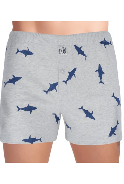 The Don Cottonizm Shark %100 Pamuk Erkek Boxer