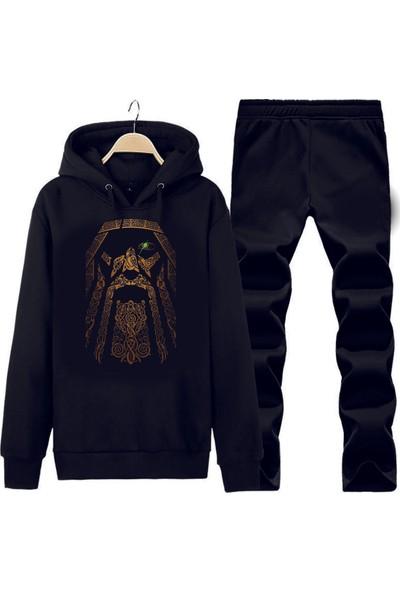 Art T-Shirt Odın Kapüşonlu Eşofman Takımı