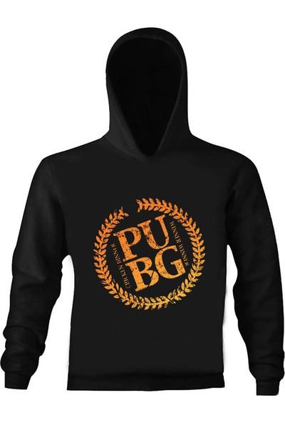 Art T-Shirt Pubg Wınner Kapüşonlu Sweatshirt