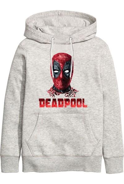Art T-Shirt Deadpool Kapüşonlu Sweathirt