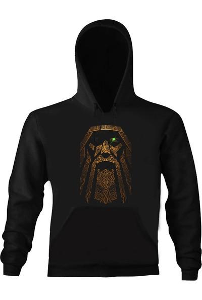 Art T-Shirt Odin Kapüşonlu Sweatshirt