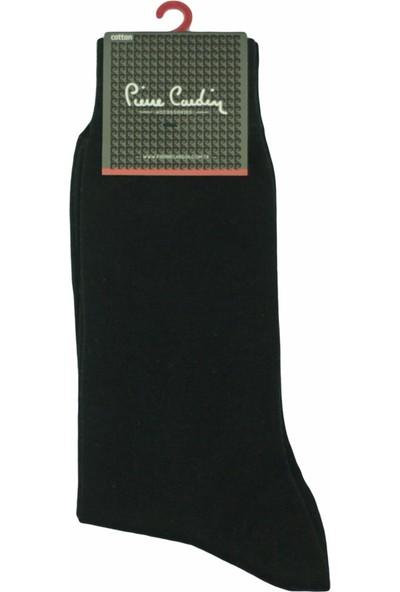 Pierre Cardin Lisanslı Logolu Erkek Çorabı 811 Siyah