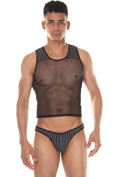 La Blinque Erkek Atlet Tanga Çamaşır Takımı
