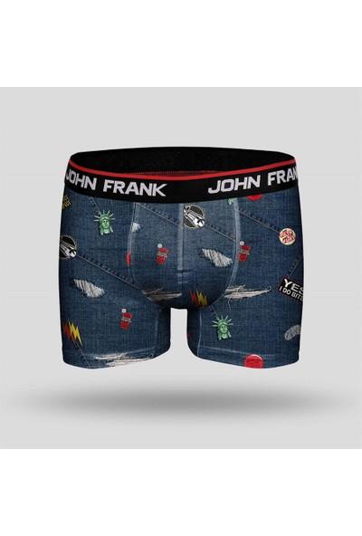 John Frank Erkek Boxer Jfbd