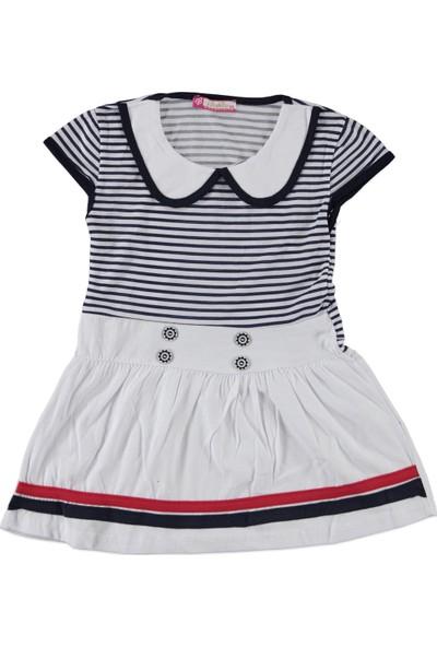 Bobito Kız Çocuk Elbise Lacivert