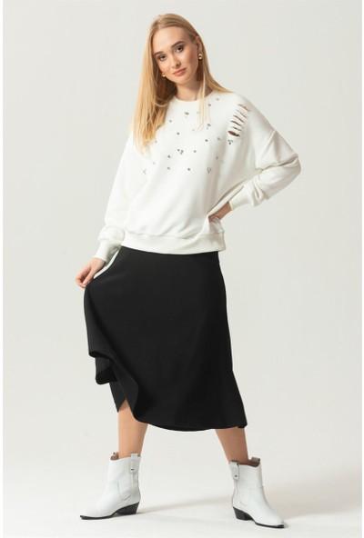 Livanomi Taşlı Sweatshirt