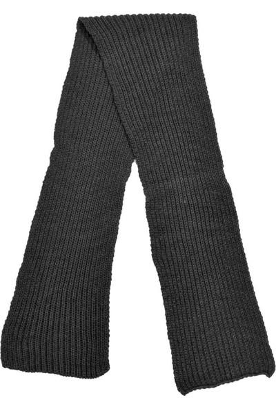 Garamond Örgü Desen Atkı-M Antrasit Erkek Atkı