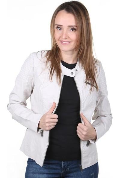 Only Flora Faux Leather Jacket Cc Otw