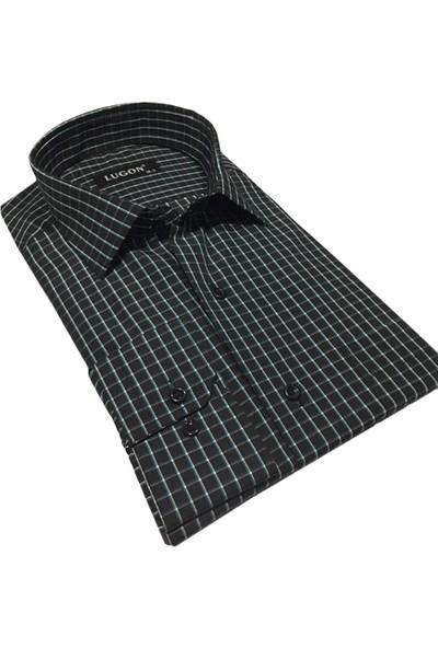 Lugon Uzun Kol Klasik Erkek Gömlek - 01086