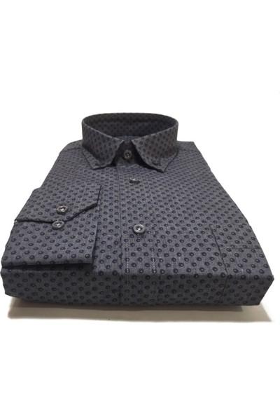 Atilla Özer Uzun Koll Klasik Erkek Gömlek - 2078