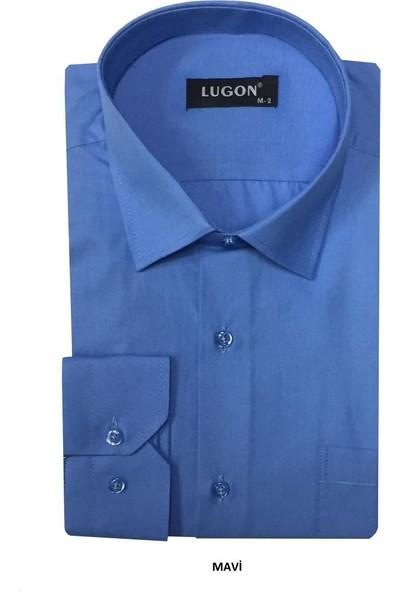 Lugon Uzun Kol Klasik Erkek Gömlek 5 Renk
