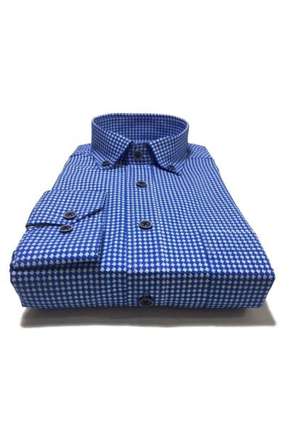 Atilla Özer Uzun Koll Klasik Erkek Gömlek - 2075