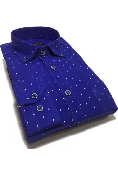 Atilla Özer Uzun Koll Klasik Erkek Gömlek - 2073