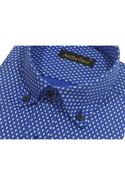 Atilla Özer 0273 Uzun Kol Klasik Erkek Gömlek