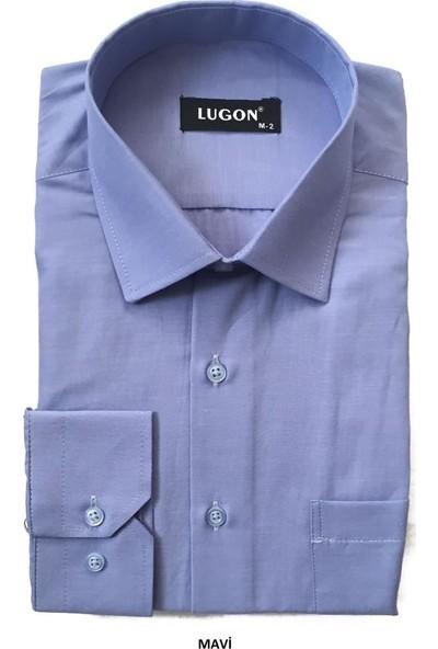 Lugon Uzun Kol Klasik Erkek Gömlek 6 Renk
