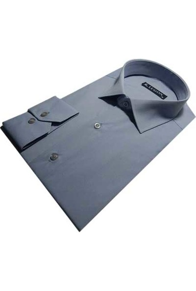 Lugon 0067 Uzun Kol Klasik Erkek Gömlek