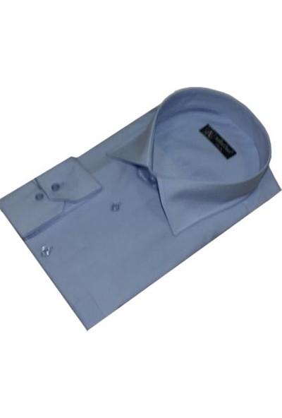 Atilla Özer 0054 Uzun Kol Klasik Battal Gömlek (Xl - 4Xl )