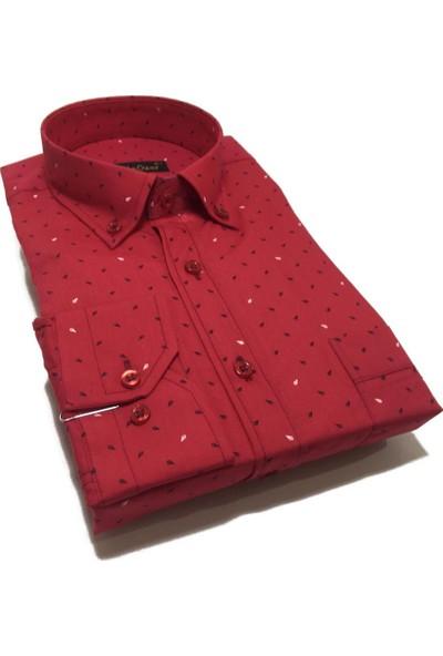 Atilla Özer Uzun Koll Klasik Erkek Gömlek - 2071