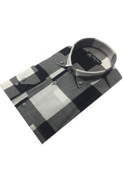 Atilla Özer 0036 Uzun Kol Klasik Erkek Gömlek