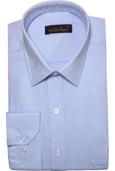 Atilla Özer Uzun Kol Klasik Erkek Gömlek - 2093