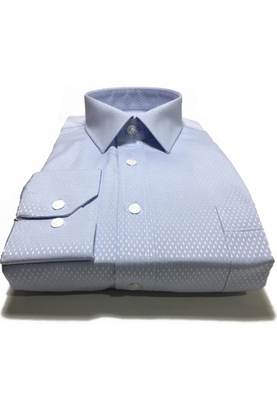 Atilla Özer Uzun Kol Klasik Erkek Gömlek - 2096