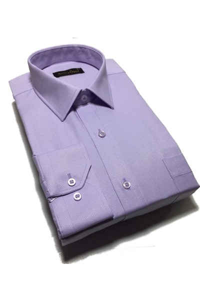 Atilla Özer Uzun Kol Klasik Erkek Gömlek - 2098
