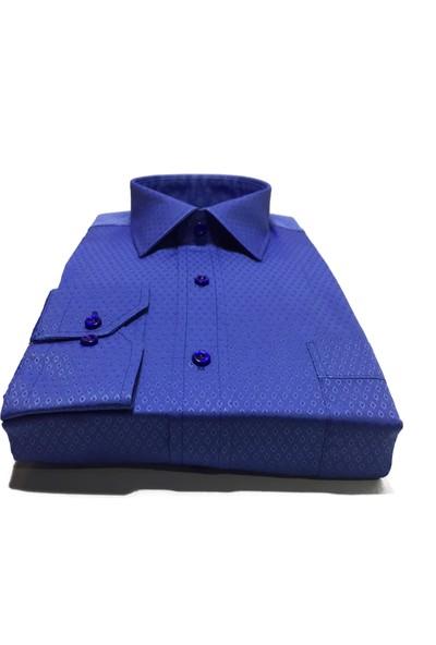 Atilla Özer Uzun Kol Klasik Erkek Gömlek - 2102