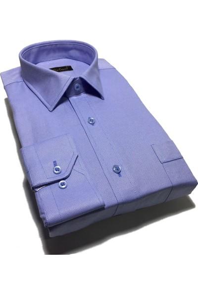 Atilla Özer Uzun Kol Klasik Erkek Gömlek - 2107
