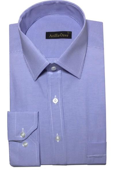 Atilla Özer Uzun Kol Klasik Erkek Gömlek - 2118