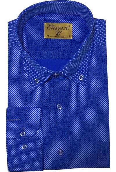 Fabio Cassani Uzun Kol Klasik Erkek Gömlek - 2062