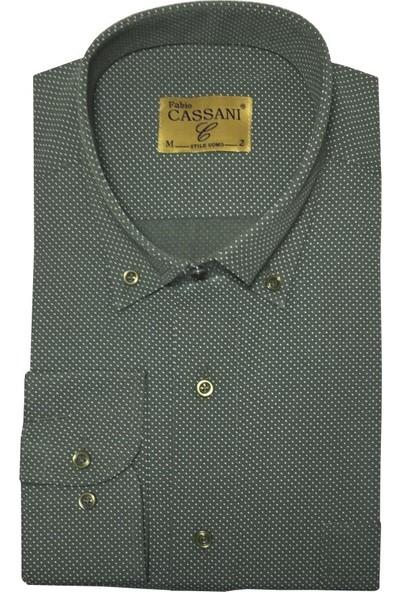 Fabio Cassani Uzun Kol Klasik Erkek Gömlek - 2055