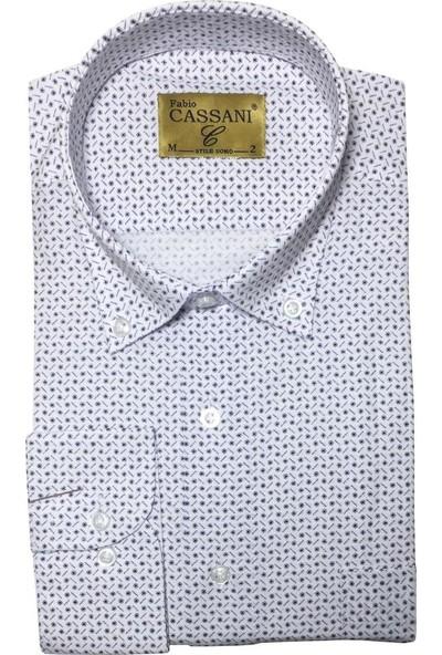Fabio Cassani Uzun Kol Klasik Erkek Gömlek - 2054