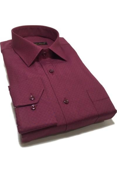 Atilla Özer Uzun Koll Klasik Erkek Gömlek - 2086