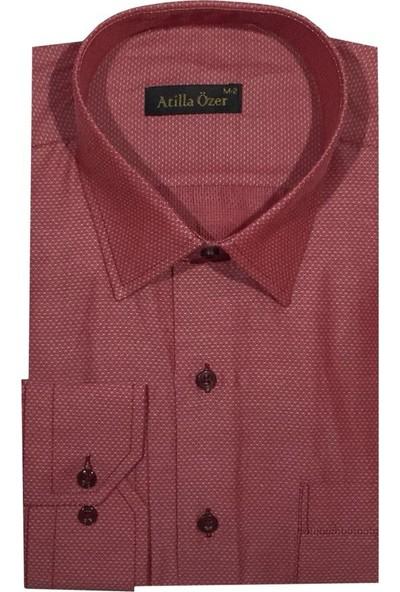 Atilla Özer Uzun Kol Klasik Erkek Gömlek - 1563