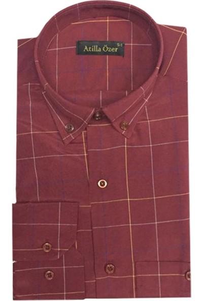 Atilla Özer Uzun Kol Klasik Erkek Gömlek - 1561