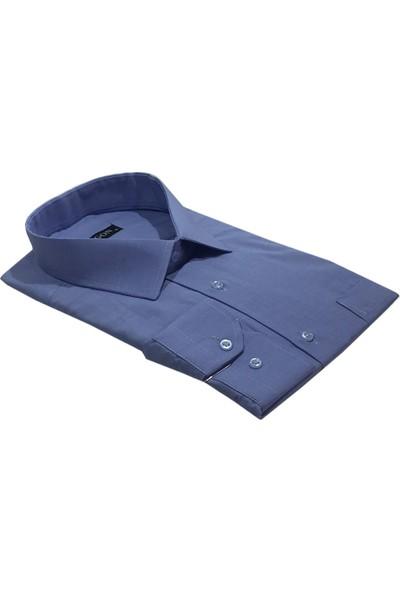 Lugon Uzun Kol Klasik Battal Erkek Gömlek - 1512