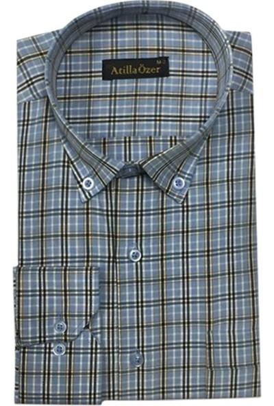 Atilla Özer Uzun Kol Klasik Erkek Gömlek - 1466