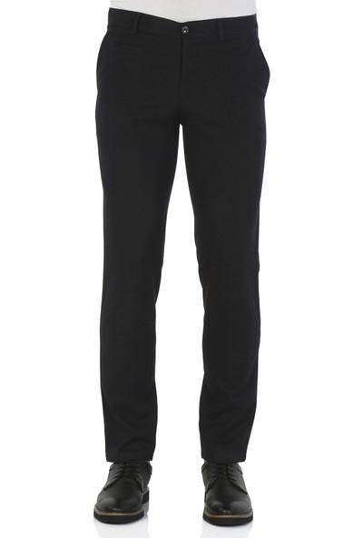 Morven Carrera Slimfit Pantolon Siyah