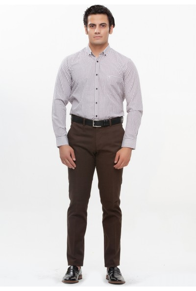 Morven Kaprun Spor Pantolon Kahverengi
