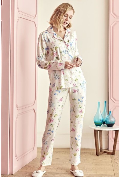 Anıl Kadın Alt Üst 2' li Pijama Takımı AN9604
