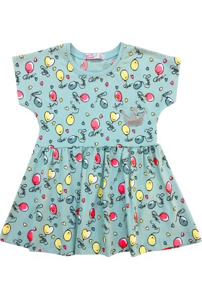 By Leyal For Kids Balonlu Elbise-7219