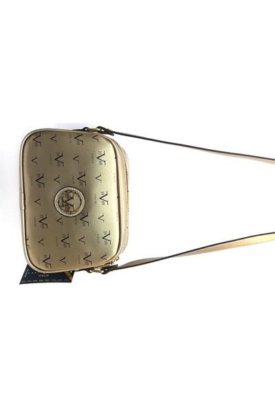 19V69 Italia 2154 Kadın Çapraz Çanta Altın