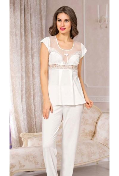 Angel's Story 2600 Kadın Pamuk Pijama Takımı