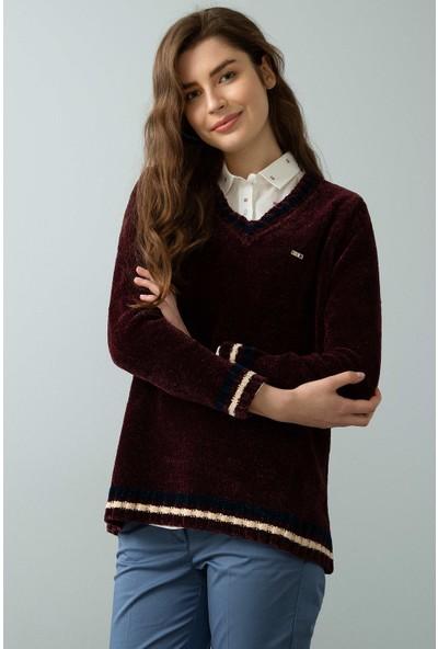 U.S. Polo Assn. Kadın Triko Kazak 50195303-Vr030