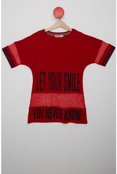 FullaModa Tüllü T-Shirt