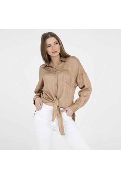 Quzu Kadın Gömlek 23410874