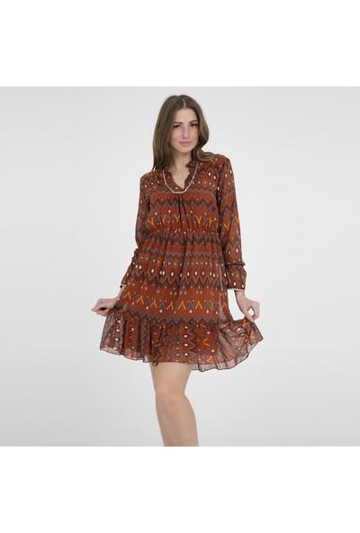 Crep Elbise Kadın Elbise 4219417